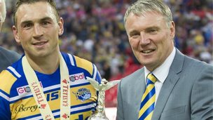 Kevin Sinfield and Gary Hetherington