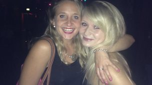Lucy Dunkley and Hannah Witheridge