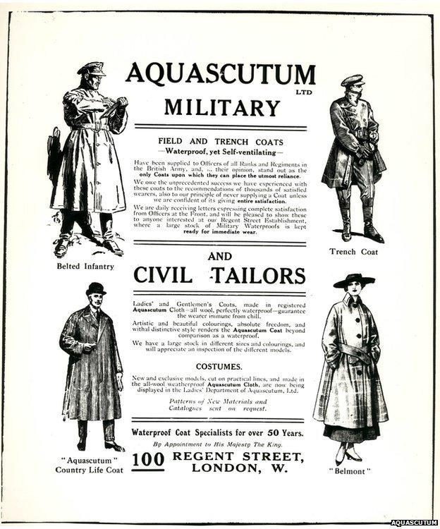 Aquascutum advert