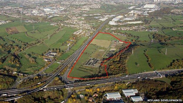 Business park proposal