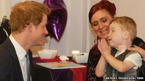 Prince Harry, Kirsty and Carson Hartley