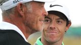 Darren Clarke and Rory McIlroy
