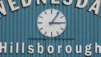 Hillsborough clock