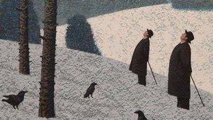 Mark Edwards painting