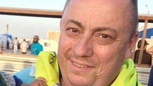 Alan Henning in Syria