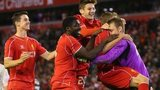 Liverpool celebrate shootout win