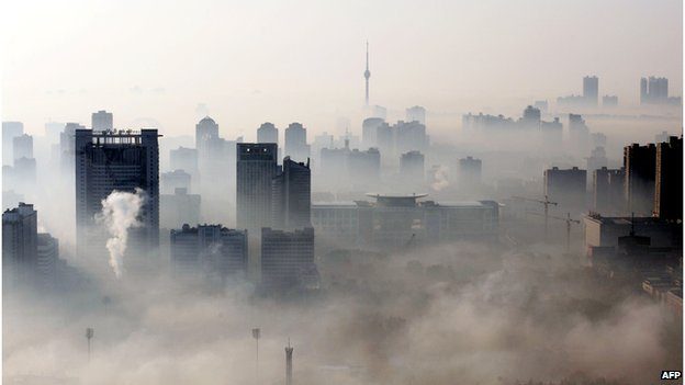 Chinese cities are among the most polluted in the world
