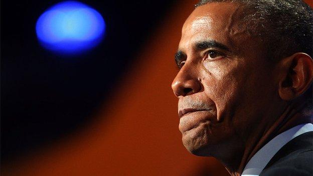 Obama sets out US leadership vision