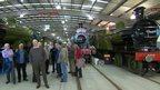 Locomotive, the National Railway Museum in Shildon