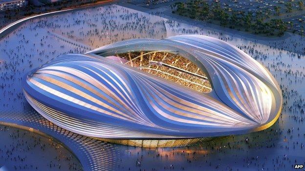 Zaha Hadid Qatar stadium design