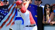 Stacy Lewis at the 2013 Solheim Cup