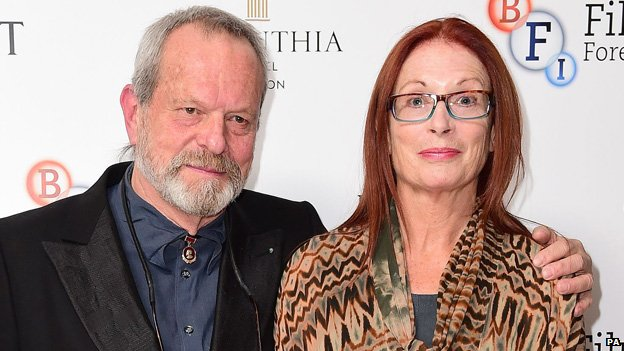 Terry Gilliam and his wife Maggie Watson