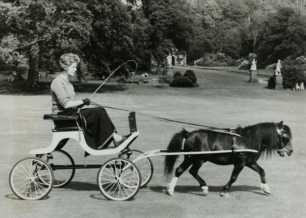 Deborah on her estate at Chatsworth