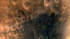 Surface of Mars as seen from India's satellite
