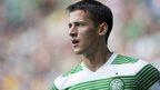 Celtic winger Aleksandar Tonev