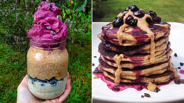 Shake and pancakes, as instagrammed by Natasha Lipman