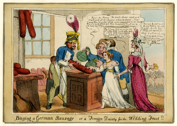 18th Century cartoon