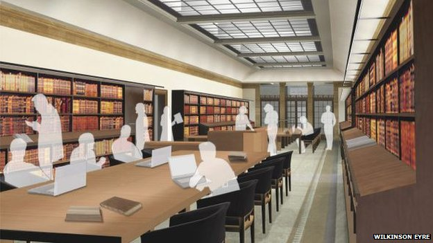 Reading Rooms In Weston Library Open 29 Sept