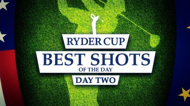 Ryder Cup 2014: Rickie Fowler & Ian Poulter in day's best shots