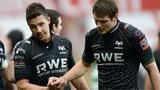 Ospreys half-backs Rhys Webb and Dan Biggar