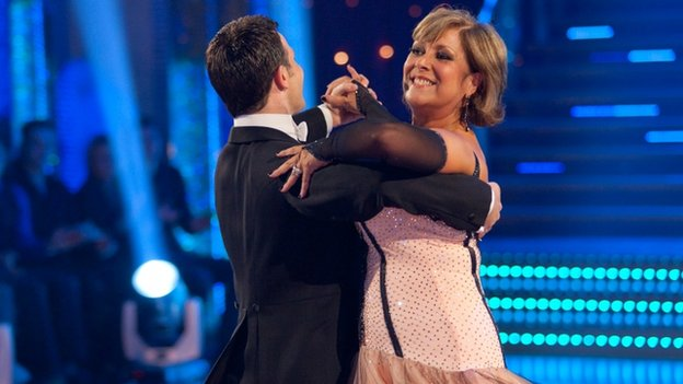 Lynda Bellingham on Strictly Come Dancing