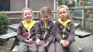 Brownies at Chester Zoo