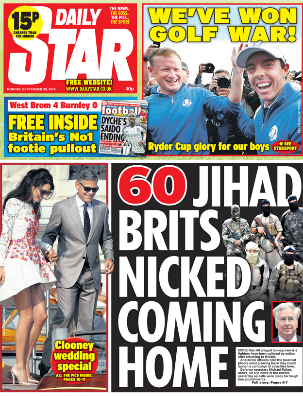 Daily Star front