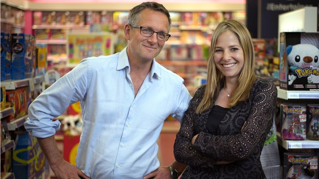 Is your brain male or female? Horizon. Dr Michael Moseley and Prof Alice Roberts