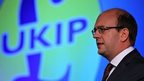 Mark Reckless, speaking at the UKIP conference after his defection