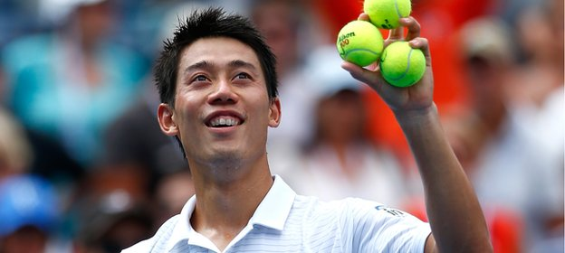 Japan's Kei Nishikori works with a psychologist to help improve his game