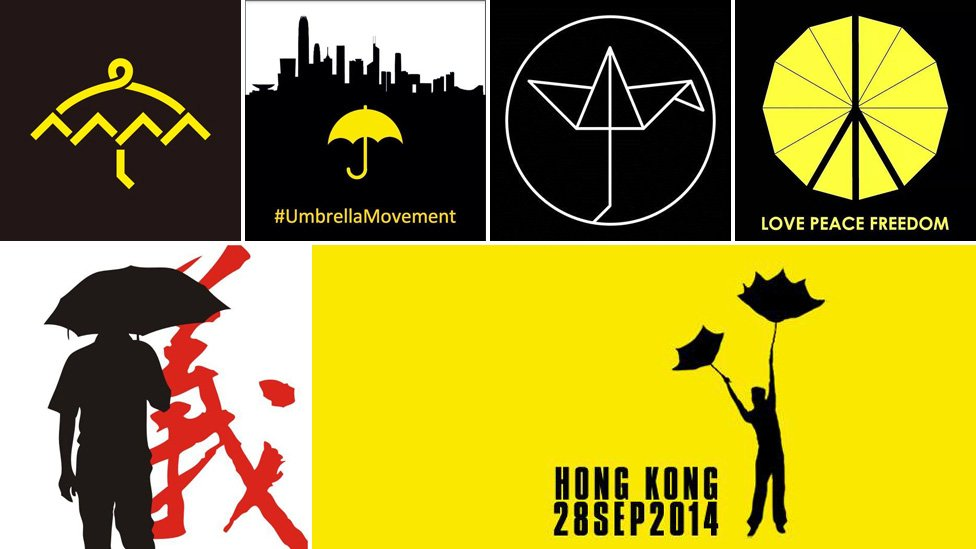 How the humble umbrella became a HK protest symbol