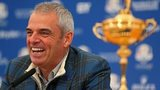Europe captain Paul McGinley with the Ryder Cup