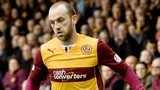 James McFadden in action for Motherwell