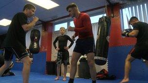 Martial arts academy in Blaina