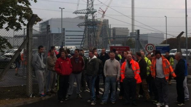 Ferrybridge strike