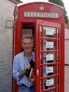 Robert Seatter  with phone box