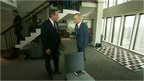 David Cameron and Evan Davis
