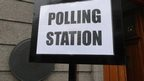 Polling Station at the Town Hall