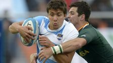 Argentina international Lucas Gonzalez Amorosino.