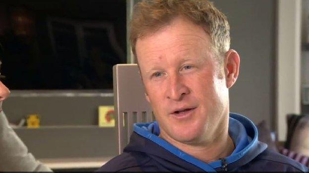 Golfer Jamie Donaldson