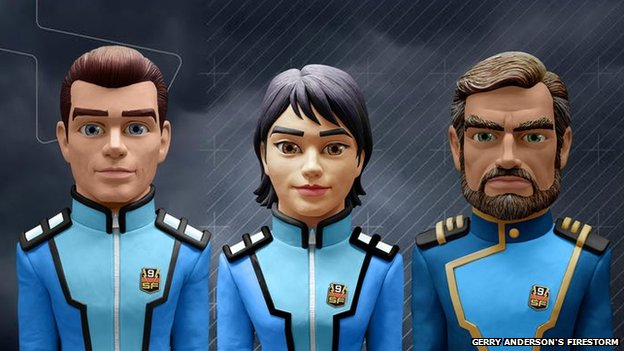 Gerry Anderson's Firestorm characters