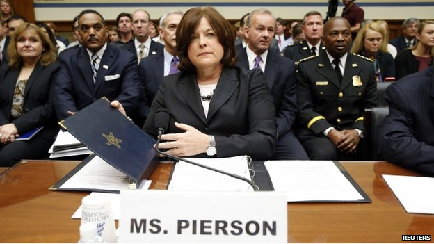 Secret Service Director Julia Pierson forced to resign over several SS scandals.