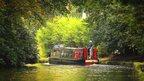 Boat on sunny September day