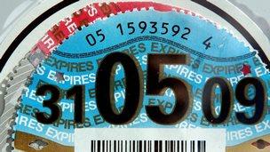 paper tax disc