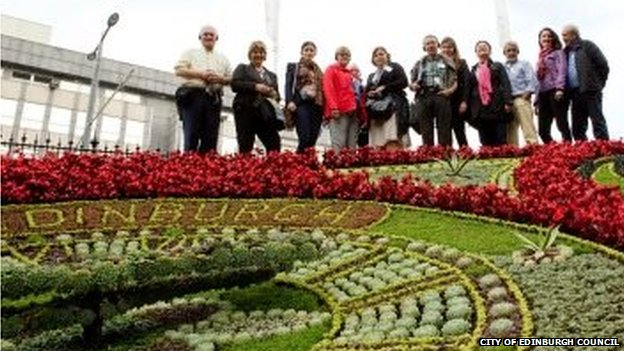 Edinburgh wins 'Entente Floral' prize