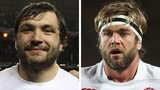 Alex Corbisiero and Geoff Parling