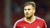 Aberdeen striker David Goodwillie