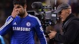 Diego Costa filmed by cameraman