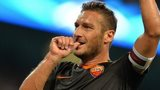 Roma striker Francesco Totti