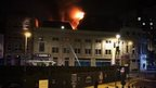 Fire at former Majestyk nightclub